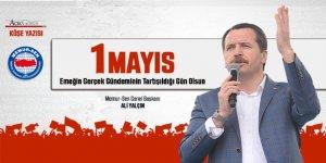 Ali Yaıçın'dan 1 Mayıs Çıkışı: Memura grev hakkı