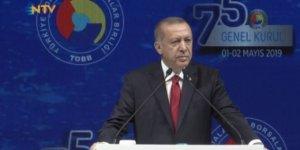 Erdoğan'dan 'Türkiye İttifakı' mesajı