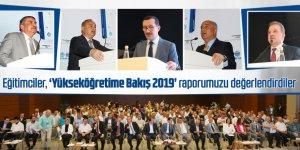 """Eğitimcilerden """"EBS Yükseköğretime Bakış 2019 Raporu""""na Övgü!"""