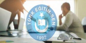Türk Eğitim-Sen'den Yardımcı Hizmetler Sınıfı Personeline Ek Gösterge Talebi