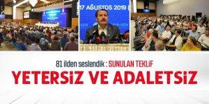 Memur-Sen 81 ilden seslendi: Sunulan teklif yetersiz ve adaletsiz
