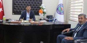 MHP'li Başkan'dan HDP'li Başkan'a ziyaret
