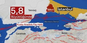 İstanbul'da 5,8 şiddetinde deprem oldu
