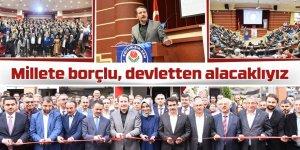 Ali Yalçın: Millete borçlu, devletten alacaklıyız
