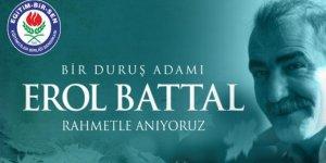 """""""Bir Duruş Adamı""""; Öğretmen, Sendikacı #ErolBattal'ı Anıyoruz"""