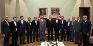 Cumhurbaşkanı Erdoğan Türkiye-AB Karma İstişare Komitesi üyelerini kabul etti