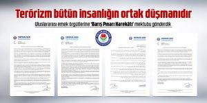 Uluslararası emek örgütlerine 'Barış Pınarı Harekâtı' mektubu gönderdik