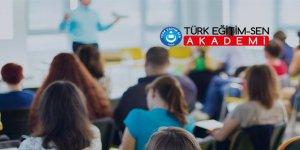 Aday Öğretmenlik Sınavına Hazırlığın Adresi:Türk Eğitim-Sen Akademi!