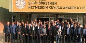 Şehit Öğretmen Necmeddin Kuyucu Kütüphanesi Açıldı