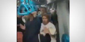 Metroda, başörtülü kadına 'Kara Fatma' diyerek saldırdı