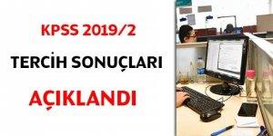 KPSS 2019/2 tercih sonuçları açıklandı