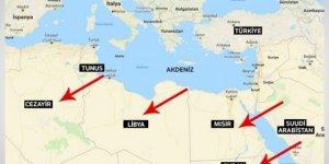 Erdoğan, sürpriz bir şekilde Tunus'a gitti
