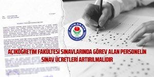 Açıköğretim Fakültesi Sınav Ücretleri Yerinde Sayıyor