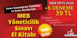 MEB Yöneticilik Sınavı (EKYS) 2020 Hazırlık Kitabı ve Denemeleri