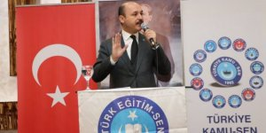 """Talip Geylan:""""Türk Eğitim-Sen 210 Bin üyeyi devirdi. Bu Teşkilatımızın Başarısıdır."""""""