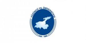 Van Yüzüncü Yıl Üniversitesi lisansüstü öğrenci alım ilanı
