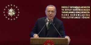 Erdoğan: Bir alçak, kızın yüzüne kezzap atıyor, 12 yıl ceza veriliyor