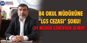 84 Okul Müdürüne LGS Cezası Şoku! 21 Müdür Görevden Alındı!