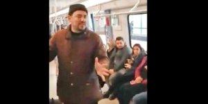 Ankara Metro'sunda FETÖ propagandası