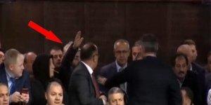 Erdoğan kürsüdeyken 'Çoluk çocuğum aç, yardım edin' dedi