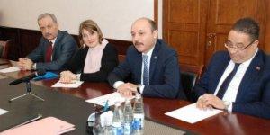 Talip Geylan, Bakü'de Etuce Avrupa Direktörü ile Bir Araya Geldi