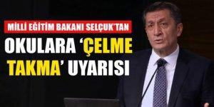 Ziya Selçuk'tan okullara 'çelme takma' uyarısı