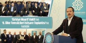 Ali Yalçın'dan Türkiye Maarif Vakfı Programında İşbirliği Mesajı