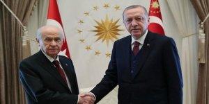 Erdoğan ve Bahçeli bugün Külliye'de görüşecek