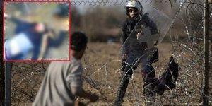 Yunan askeri bir mülteciyi vurarak öldürdü