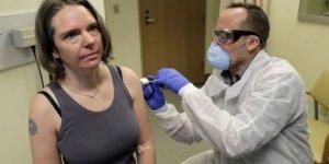 Korona aşısı ilk kez denendi... İşte ilk fotoğraf