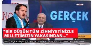 Ali Yalçın'dan Can Ataklı'ya Tepki: Yargıya hesap vereceksin!