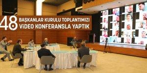Eğitim-Bir-Sen Başkanlar Kurulu, Video Konferans İle Yapıldı - İşte sonuç bildirgesi