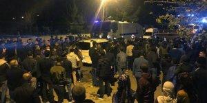 Batman M Tipi Cezaevi'nde tutuklular bir koğuşu ateşe verdi