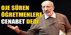 Dilipak'tan Oje Süren Öğretmene: Cenabet Cenabet Dolaşacaksınız...