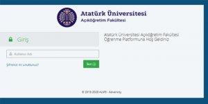 Atatürk Üniversitesi, online AÖF sınavı sonrası çöktü