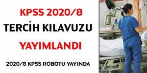KPSS 2020/8 tercih kılavuzu yayımlandı