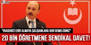 20 Bin Yeni Öğretmeni Türk Eğitim-Sen'e Davet Etti!