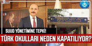 Türk Okullarını Kapatan Suud Yönetimine Tepki!