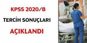 KPSS 2020/8 tercih sonuçları açıklandı