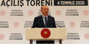 Erdoğan: Enflasyonu, tek haneli rakamlara düşürmekte kararlıyız
