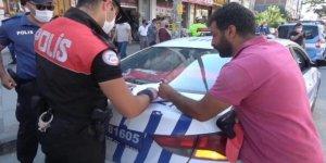 Başkentte 6 günde 731 bin lira maske cezası kesildi