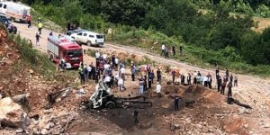 Jandarma'dan 'Sakarya'daki patlamaya ilişkin' açıklama