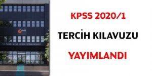 KPSS 2020/1 tercih kılavuzu yayımlandı