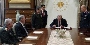 Cumhurbaşkanı Recep Tayyip Erdoğan, Yüksek Askeri Şura kararlarını onayladı
