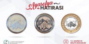 İşte Ayasofya Camii için basılan özel para