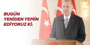 Erdoğan'dan Ayasofya paylaşımı: Bugün yeniden yemin ediyoruz ki izin vermeyeceğiz