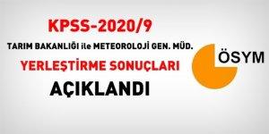 KPSS-2020/9 Sözleşmeli yerleştirme sonuçları açıklandı