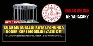 MEB Şube Müdürleri Rotasyonunda Torpil Listesi Sızdı!