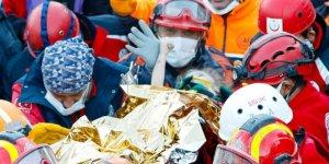 3 yaşındaki Elif, 65 saat sonra kurtarıldı
