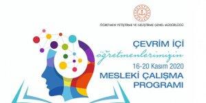 Öğretmenlerin 16-20 Kasım 2020 Mesleki Çalışma Programı